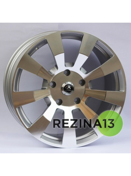 Alexrims AFC-10 (forged) 9,5x20 5x150 ET40 DIA110,1 (polished surface + silver inside)