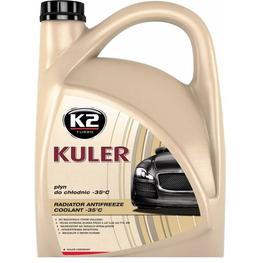 K2 KULER -35C 5L RED, антифриз червоний
